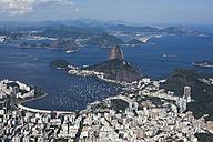 Brazil, Aerial view of Rio De Janeiro - MAUF000307