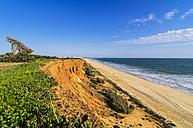 Portugal, Algarve, Vilamoura, cliff coast, beach Praia da Falesia - THAF001575