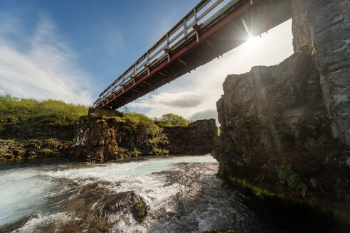 Iceland, Bruara River with Bruarfoss waterfall - PAF001629