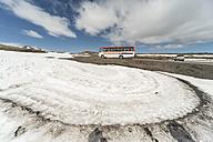 Iceland, Snaefellsjoekull, volcanos, bus - PA001653