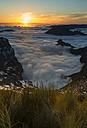 Portugal, Madeira, evening sun at Pico do Arieiro - MKFF000267