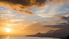 Portugal, Madeira, Funchal at sunset - MKFF000270