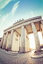 Germany, Berlin, Brandenburger Tor at sunset - CMF000367