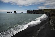 Iceland, Vik, coast and sea - PAF001704