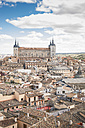 Spain, Toledo, cityscape with Alcazar as seen from the cathedral - EPF000030