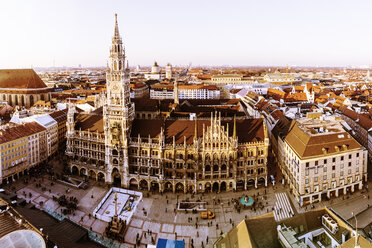 Germany, Bavaria, Munich, New City Hall at Marienplatz - ZMF000464