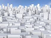 3D-Rendering, mega city, living space - UW000817