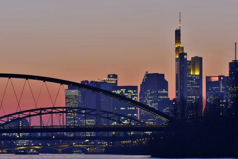 Germany, Frankfurt, Luminale in the city - FDF000150