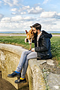 Man with his dog - MGOF001612