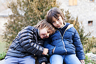 Portrait of two little boys - VABF000400