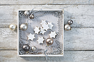 Christmas baubles and cinnamon stars - ASF005874