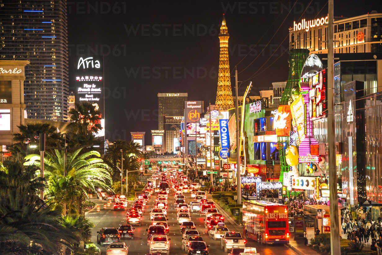 USA, Nevada, Las Vegas at night - LEF000053 - Lighteffect/Westend61