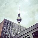 Germany, Berlin, buildings and TV tower - SEGF000543