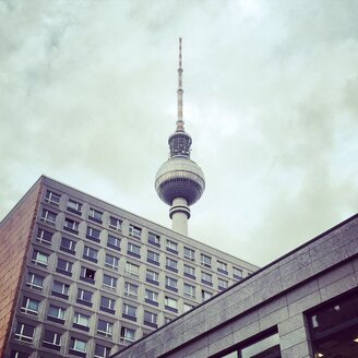 Germany, Berlin, buildings and TV tower - SEGF000543