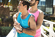 Gay couple in love - LEF000077