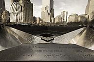USA, New York City, Manhattan, 9 11 Memorial - FC000890