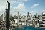 Thailand, Skyline of Bangkok - MBEF001422