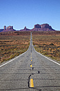 USA, Utah, view of the Monument Valley and Highway 163 - GIOF000858