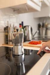 Espresso can on ceramic glass cooktop - BOYF000264