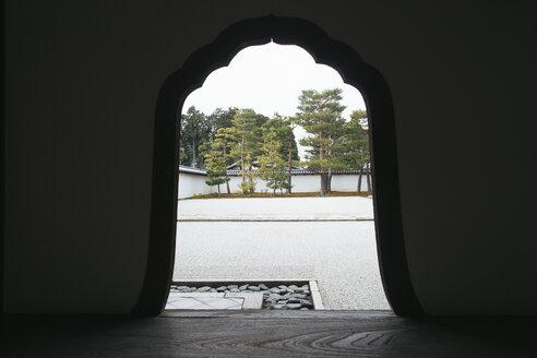 Japan, Kyoto - Japanese Zen Garden in Kyoto (Shokoku-ji Temple) - JUB000154