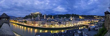 Austria, Salzburg, panoramic view from Kapuzinerberg - YRF000101