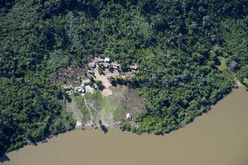 Brazil, Para, Itaituba, Sawle Muybu, Village of Mudndururu people, Rio Tapajos - FLKF000692