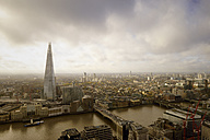 UK, London, cityscape with River Thames and The Shard - BRF001307