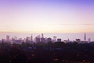 UK, London, skyline in morning light - BRF001322