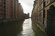 Germany, Hamburg, Speicherstadt - MYF001453