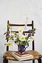 Spring bunch of flowers on chair - MYF001456