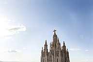 Spain, Barcelona, view to Sagrat Cor - VABF000476