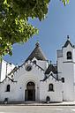 Italy, Apulia, Alberobello, Trullo, Chiesa di Sant'Antonio - CSTF001059