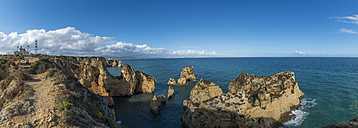 Portugal, Lagos, Algarve, Ponta da Piedade, panoramic view - FRF000408
