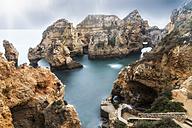 Portugal, Algarve, Lagos, Ponta da Piedade, grotto - FRF000420