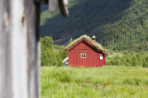 Norway, wooden hut - SJF000170