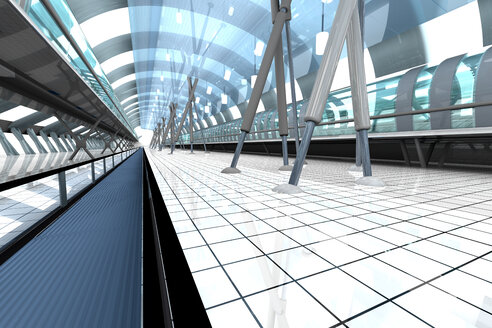 Futuristic station, 3D Rendering - SPCF000073