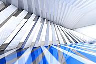 Futuristic room, 3D Rendering - SPCF000076