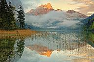 Austria, Styria, Eisenerz, Hochschwab, Pfaffenstein mountain, Leopoldsteiner lake - GFF000584