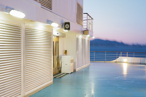 On board of a cruise ship in the evening - MEMF000946