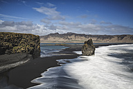 Iceland, Vik, Dyrholaey, peninsula, black beach - ASCF000584