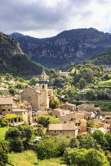 Spain, Balearic Islands, Mallorca, Valldemossa, village - VT000524