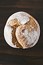 Rustic hand made bread on wood - EBSF001405