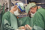Surgeons executing heart bypass surgery - MWEF000028