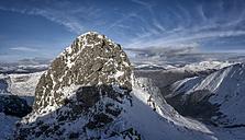 Scotland, Glencoe, Beinn a'Bheithir,  mountaineering in winter - ALRF000478
