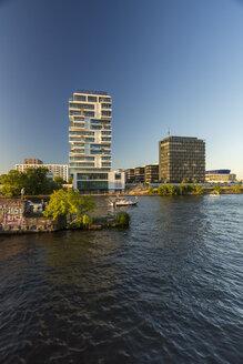 Germany, Berlin, modern buildings at Spree riverside - TAMF000500