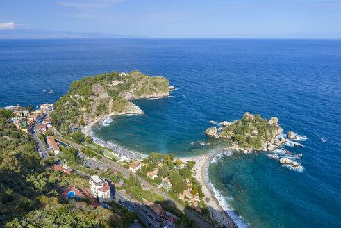 Italy, Sicily, Taormina, Isola Bella - RJF000585