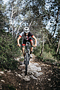 Mountain biker on the move - JRFF000720