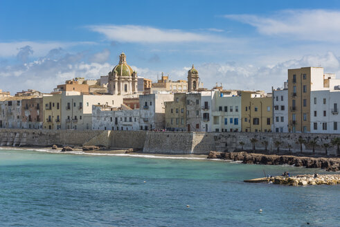 Italy, Sicily, Trapani, Old town and city fortification - HWOF000099
