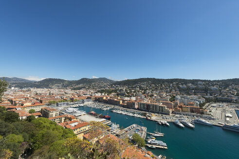 France, Provence-Alpes-Cote d'Azur, Nizza, Marina - VIF000477