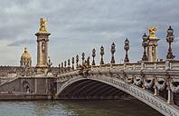 France, Paris, Pont Alexandre III, Seine river - LCU000014